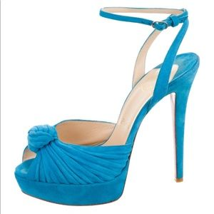 Christian Louboutin Greissimo Mule 140 Suede